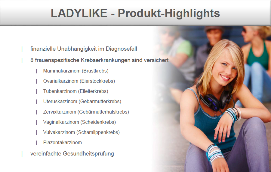 LADYLIKE - Produkt-Highlights